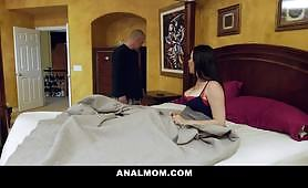 Horny milf wife only wants her ass fucked by her husbands' big dick brother