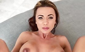 Beautiful mature is fucked after sucking cock